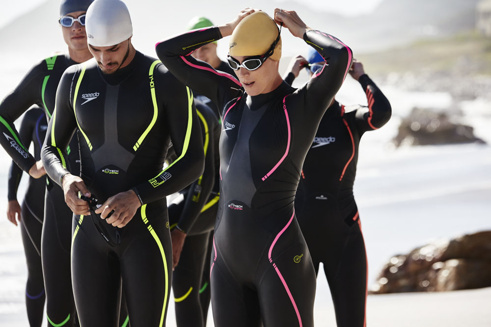 Cycling in wetsuit - 5 1
