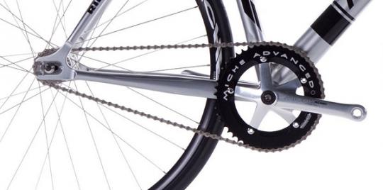 Single speed chainset and dropout