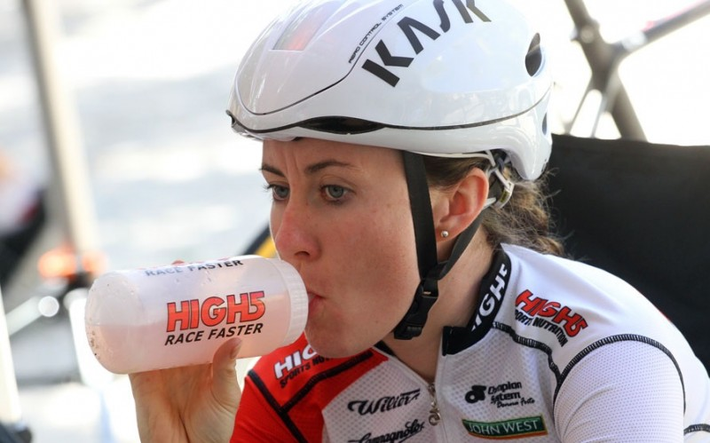 image of High5 athlete drinking