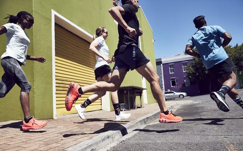 Black More Mile 7 Inch Mens Boxer Short