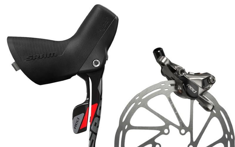 SRAM road bike disc brakes