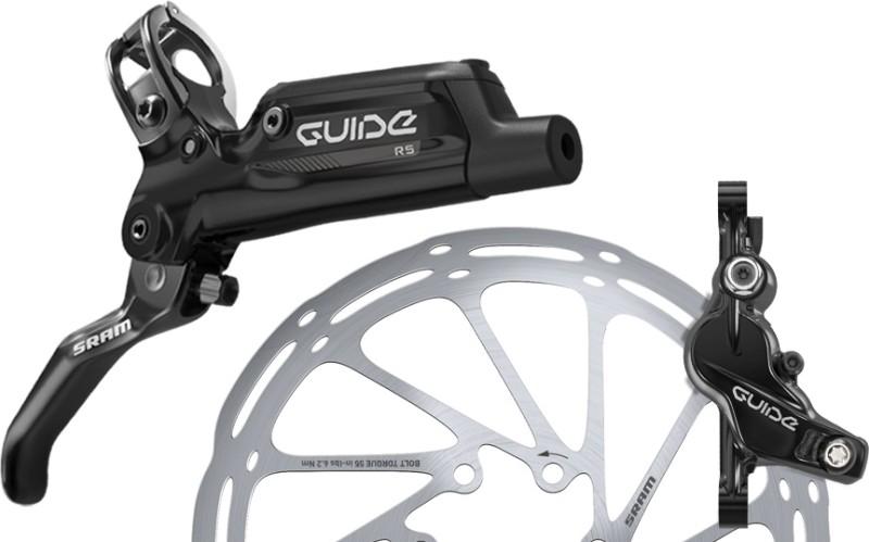 Mountain Bike Bicycle Mechanical Disc Brake 160mm Disc Rotor Brake Lever Set