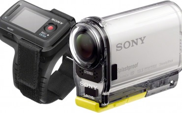 Sony AS100VR Action Camera with Live View Remote and GPS