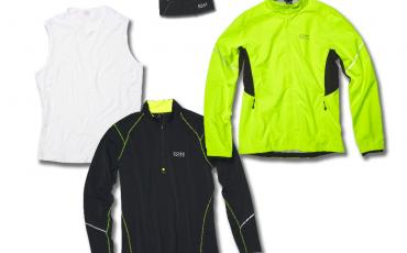 Collection of Gore Running Wear clothing