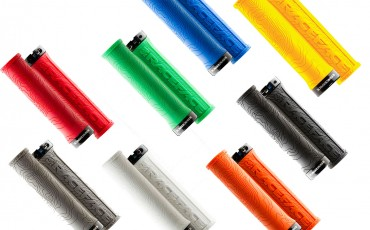 image of various colour schemes of RaceFace grips