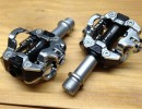image of cycling clipless pedals
