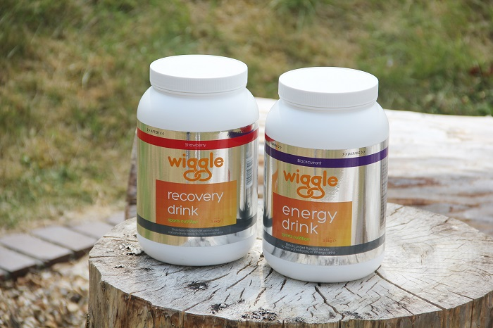 Wiggle energy and recovery drinks